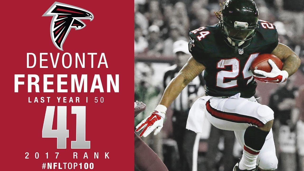 8b002913 #41: Devonta Freeman (RB, Falcons) | Top 100 Players of 2017 | NFL