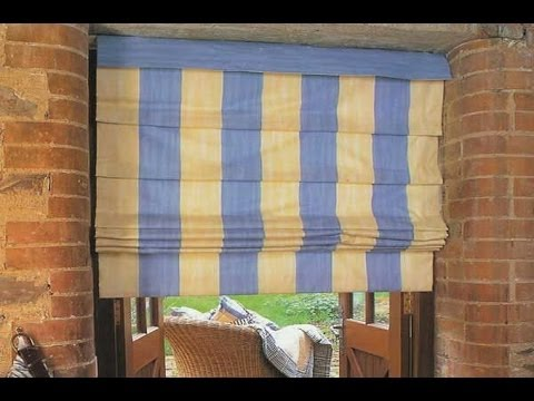 Шьем шторы римские