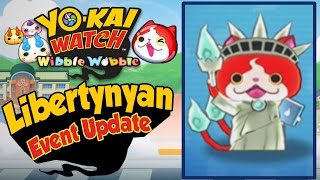 Yo-Kai Watch Wibble Wobble - Libertynyan Event Update! [iOS Android Gameplay]