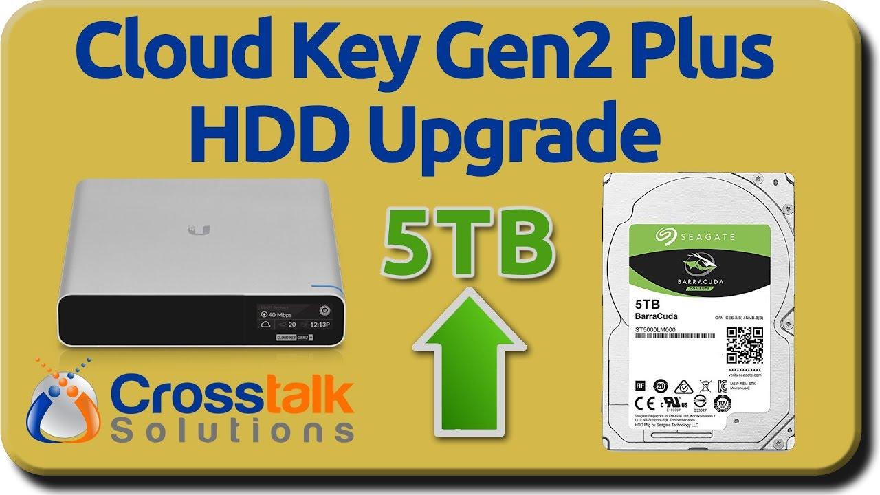 Cloud Key Gen2 5TB HDD Upgrade