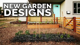 Designing 2 New Gardens For The Homestead | Ep. 3