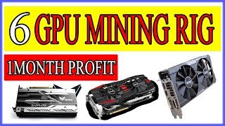 6 GPU Mining Rig Profits in 1 Month (ETH/ETC) Urdu/Hindi By Zakria 2017