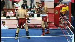 Mehmet AYGÜN - Abdullah Cem AKIN  Türkiye Kick Boks Şampiyonası Samsun
