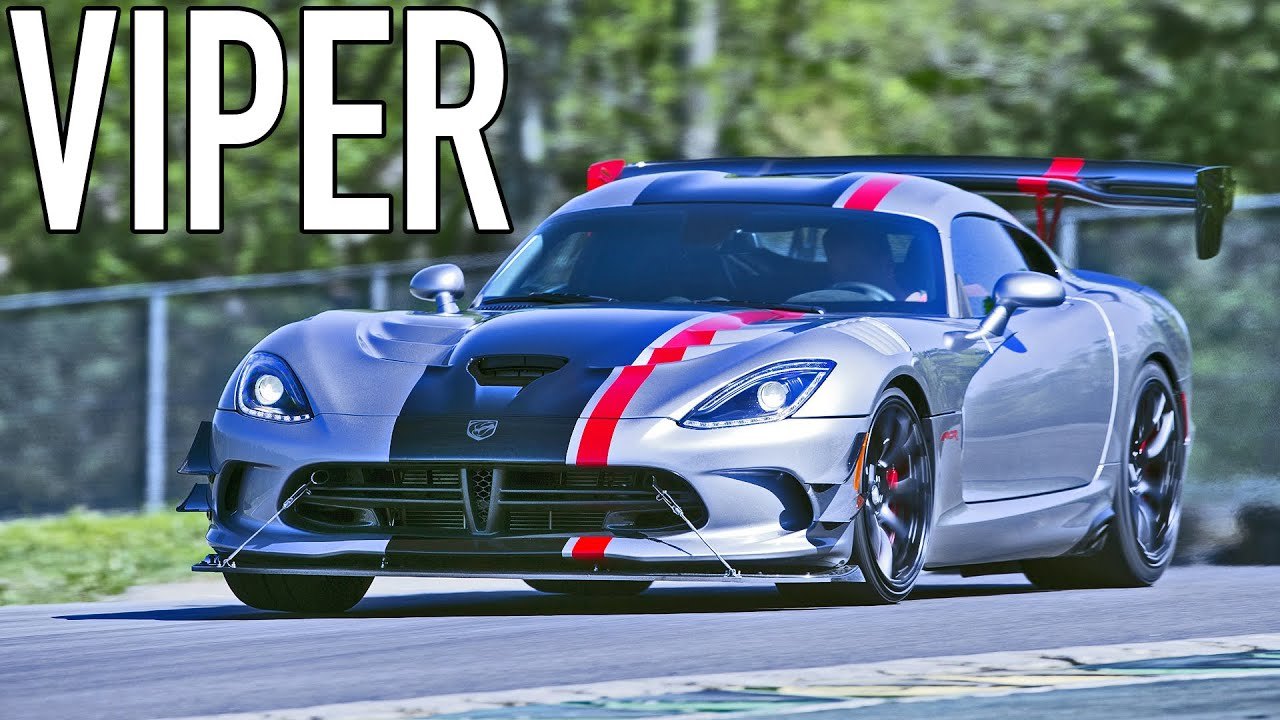 ▻ 2016 Dodge Viper ACR 8.4 Liter V10 645 Hp   YouTube