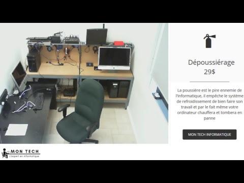 Mon Tech Informatique - Atelier en direct