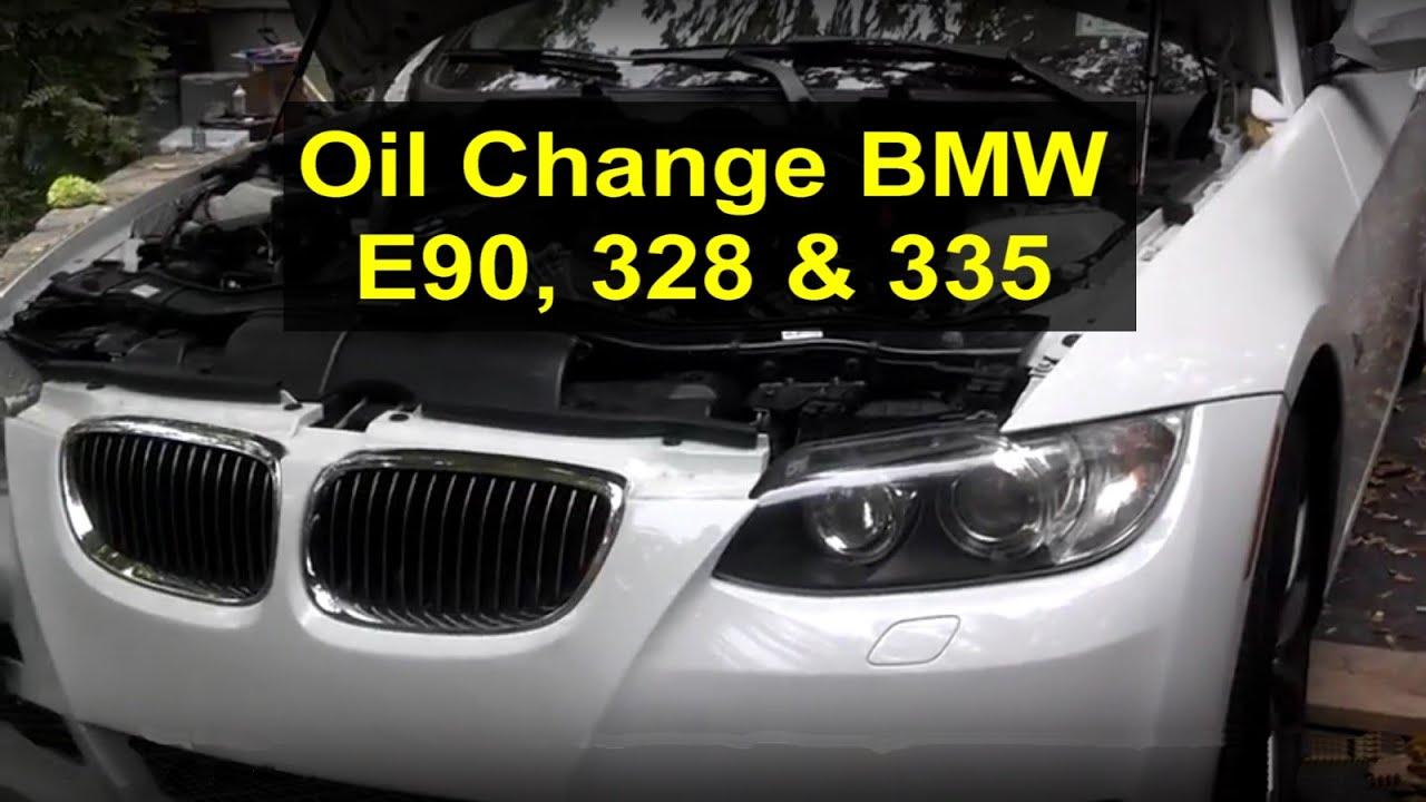 Oil drain and fill BMW 335i E90  VOTD  YouTube