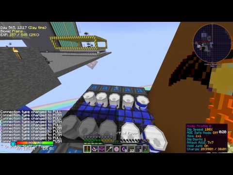 "Minecraft HQM ""Project Ozone"" #100 - Solar Evaporation Plant"
