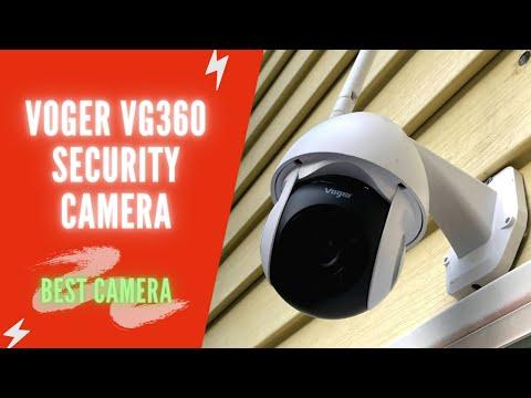 Voger Security Camera Review | Voger 360° Outdoor Camera Review | Best Security Camera System 1080P