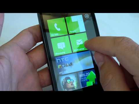 HTC HD7: video