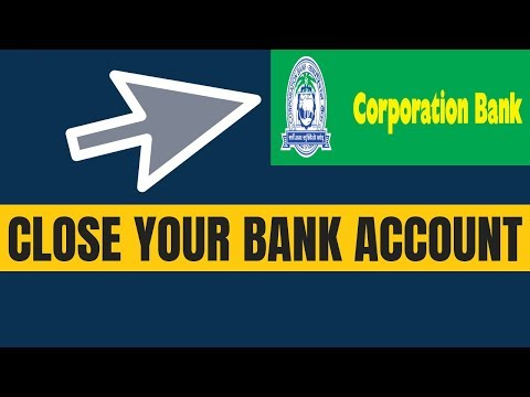 How to close corporation bank account online