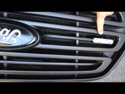 Front Grill Removal 2016 Ford Transit Cargo Van