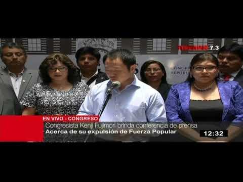 Bloque liderado por Kenji Fujimori renuncia a Fuerza Popular