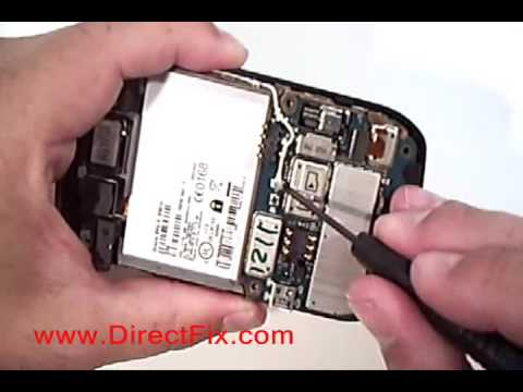 How To: Replace Blackberry Curve 8900 Screen | DirectFix.com