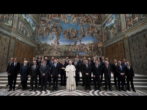 """These have one mind..."" EU leaders giving back  the power to the Papacy"
