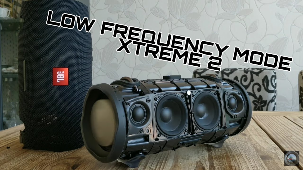JBL XTREME 2 - Extra Bass mode?!(low frequency mode)   🤔🤔