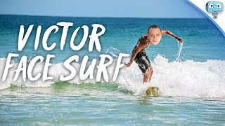 Victor face SURF