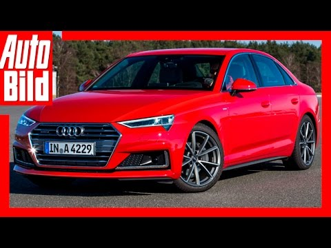 audi a4 facelift 2019 neues gesicht f r den a4 youtube. Black Bedroom Furniture Sets. Home Design Ideas