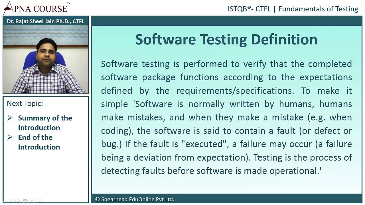 istqb certified tester foundation level what do you