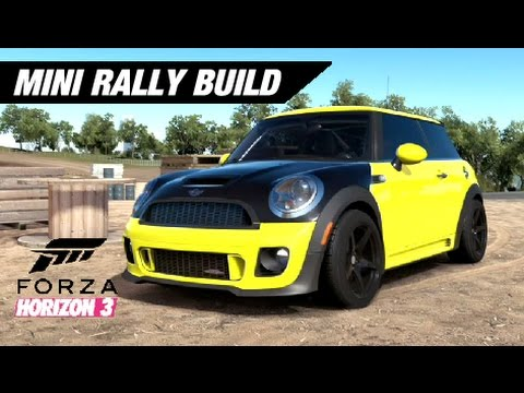 Awd Mini Cooper Rally Build Forza Horizon 3