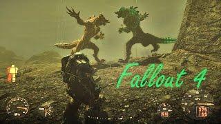 Fallout 4: Glowing Deathclaw Vs Radscorpio