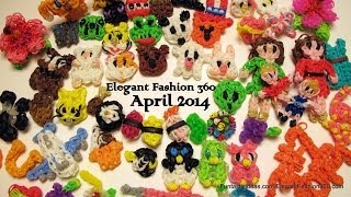 Rainbow Loom Design Collections 04- 2014 by Elegant Fashion 360