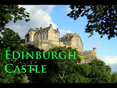 EDINBURGH CASTLE - No. 1 attraction tour during St Andrew's Day - GoPro