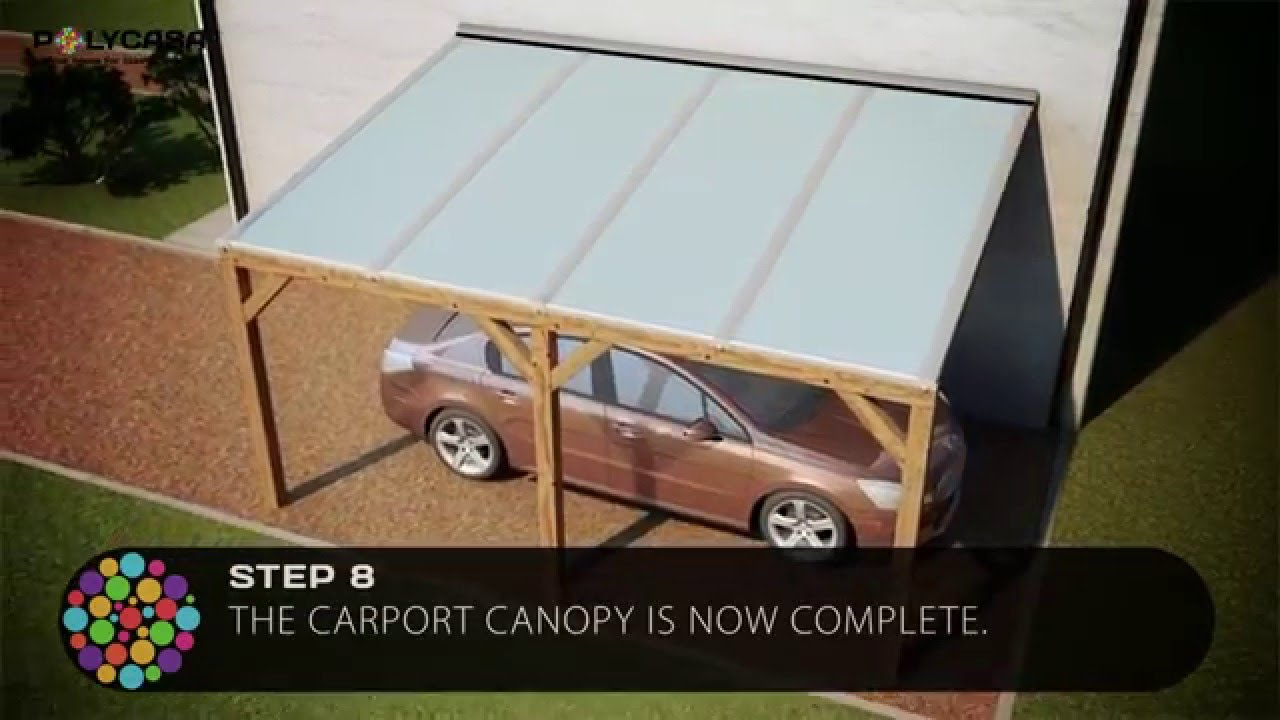 Carport Canopy Installation Guide With Structured