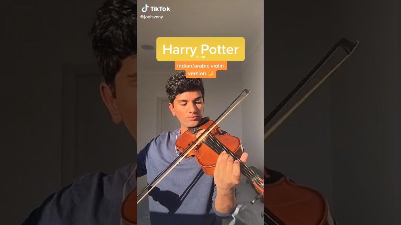 harry potter theme - indian/arabic violin cover - tiktok