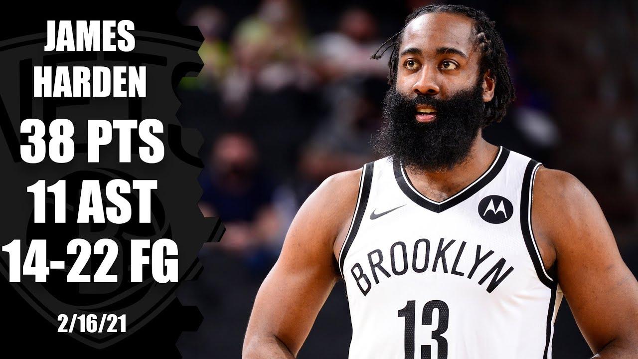 James Harden scores 38 points in Nets' comeback win vs. Suns [HIGHLIGHTS] | NBA on ESPN
