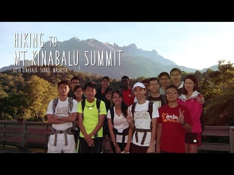 Hiking to Mt Kinabalu Summit [HD]