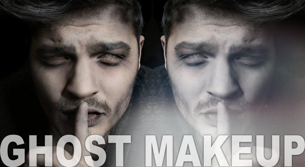 Ghost Makeup   Halloween Makeup Tutorial   Alex Faction - YouTube