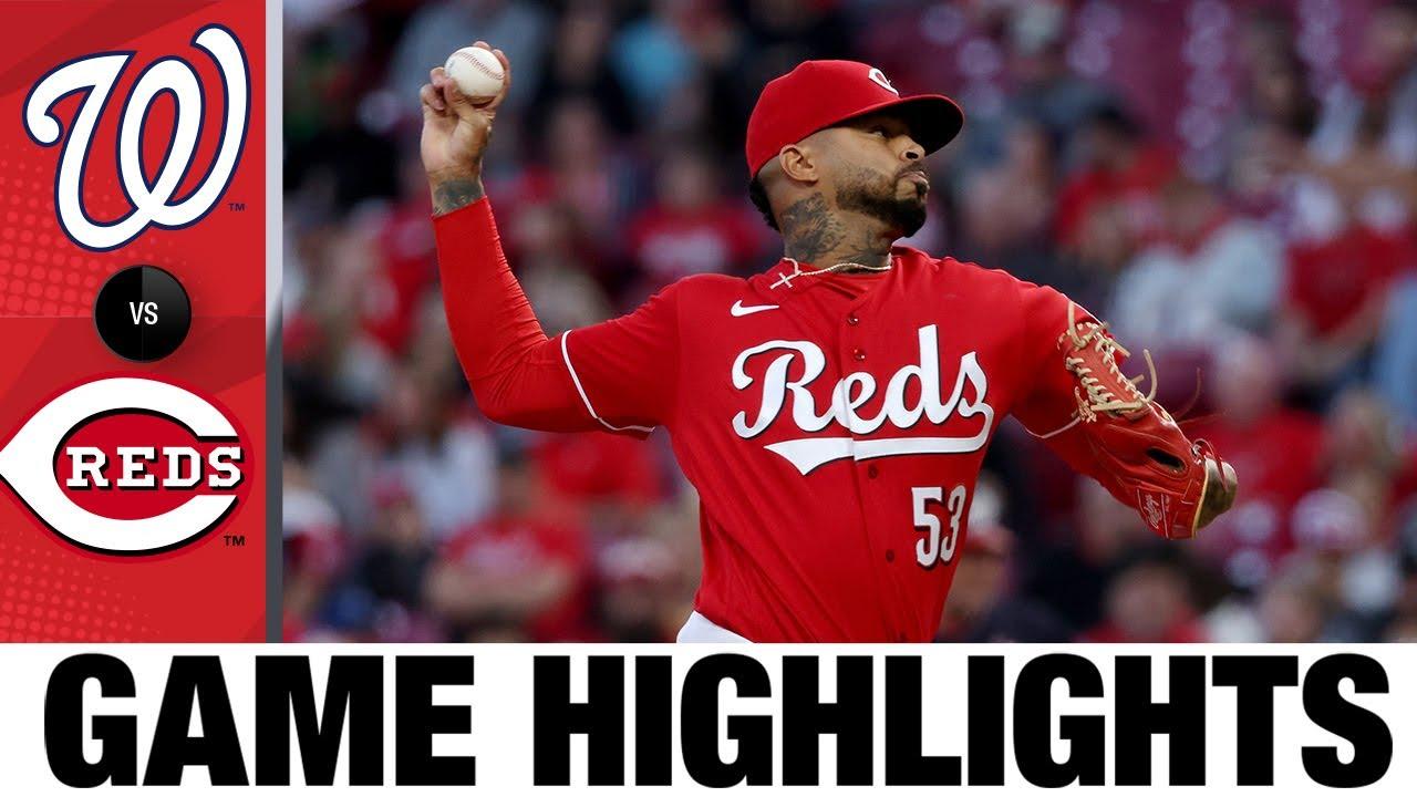 Download Nationals vs. Reds Game Highlights (9/25/21) | MLB Highlights