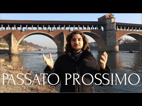Passato prossimo. Прошедшее завершенное время в итальянском языке.