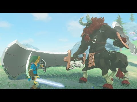 Ultimate Challenge #1 Defeat The Strongest Lynel with 20,000HP  Zelda Breath of the Wild