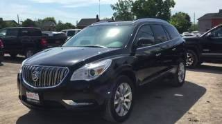 2017 Buick Enclave AWD Premium Dual Sunroof Ebony Twilight Metallic Oshawa ON Stock# 170001