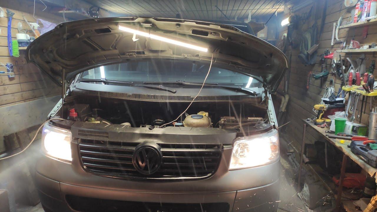 Транспортер т5 на холодную плохо заводится очистка силосов элеватора