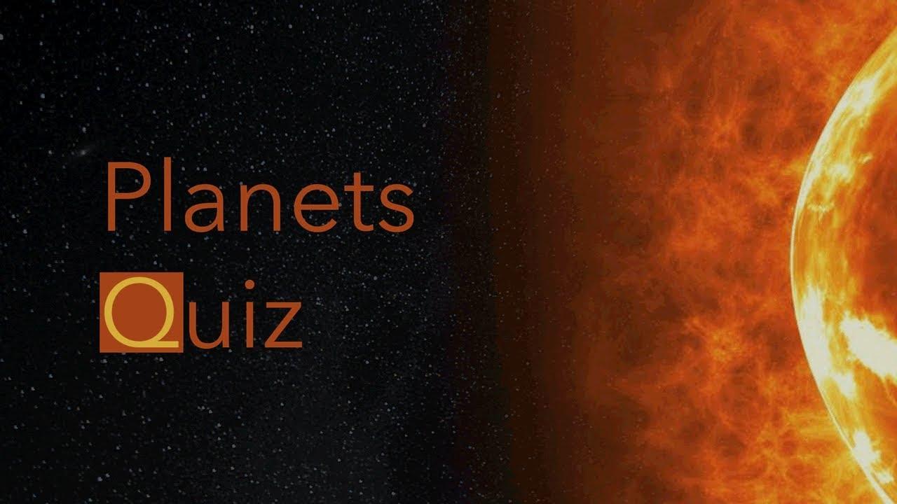 Planets Quiz