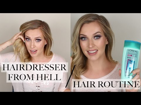 Hair Routine For An Oily Scalp + STORYTIME - Hairdresser From Hell