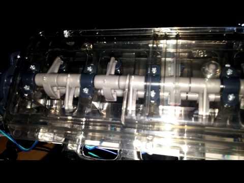 Model overhead cam V8