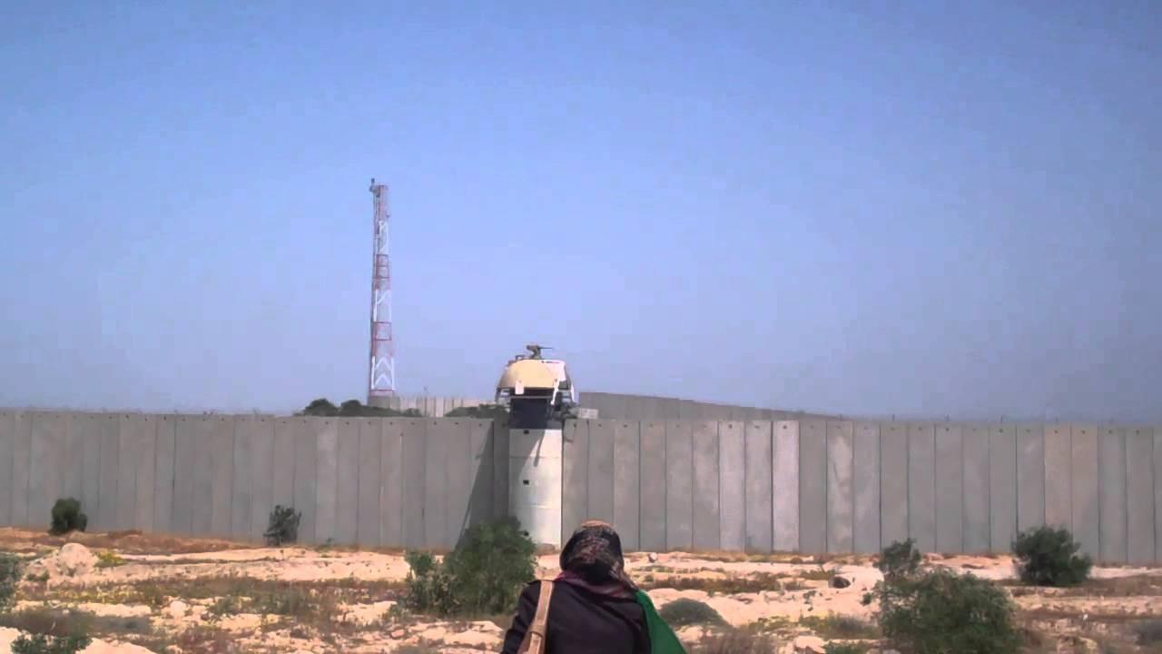 beit hanoun  gaza  israeli gun turrets