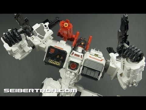Transformers Generations Metroplex Titan Class shown at Toy Fair 2013 in New York City