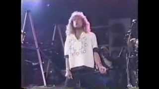LED ZEPPELIN Atlantic Records 40th Anniversary Live 1988 May14 @MSG in NY.