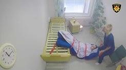 Hoitolaitospalo huoneessa