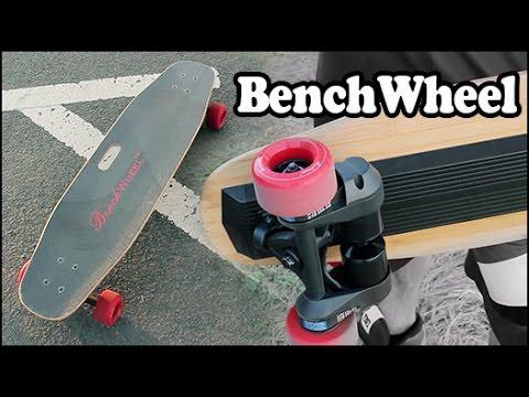bench wheel review elektrisches skateboard mit motor