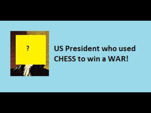 US President who used CHESS to win a war! Best US Presidential History Videos