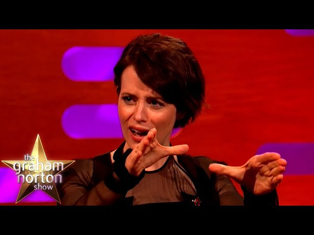 Claire Foy Loves Strangling People!   The Graham Norton Show