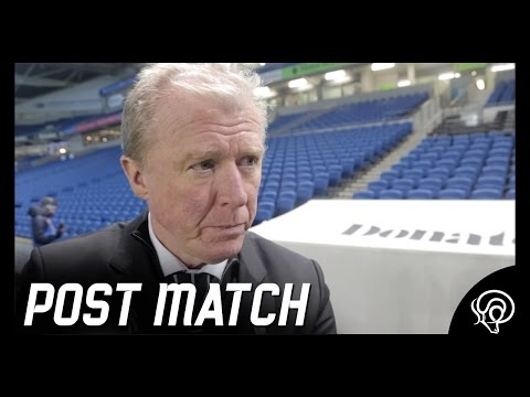 POST MATCH | Steve McClaren Post Brighton & Hove Albion (A)
