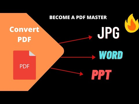 how to convert pdf file to JPG,PPT| I love Pdf website.