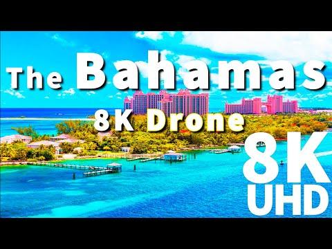 8K The Bahamas | The Bahamas in 8K ULTRA HD HDR Drone
