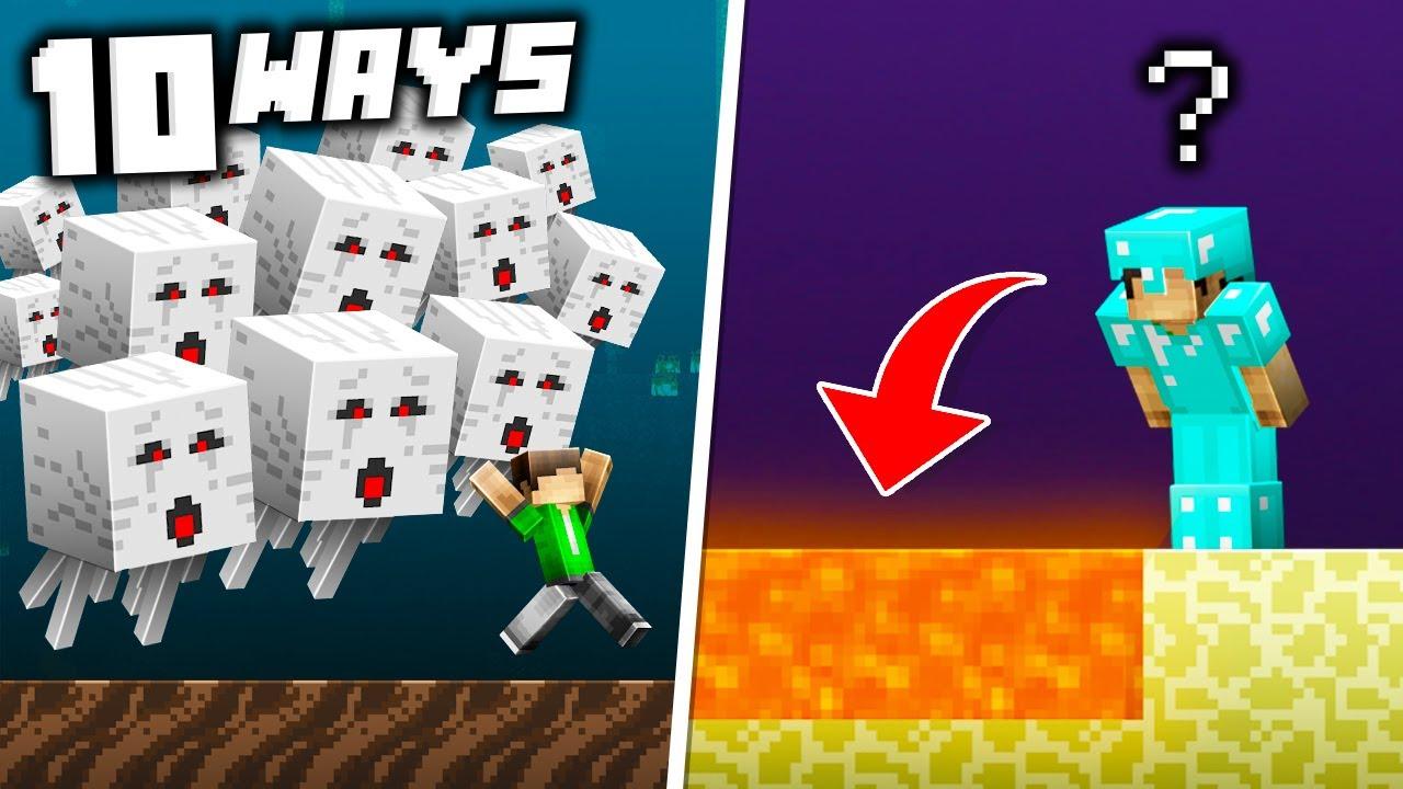 10 Ways This Minecraft World TROLLS You in Minecraft 1.16!
